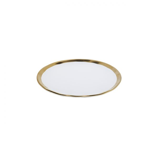 Fuente Oval 23 X 17 2,7 Golden White Tableswing